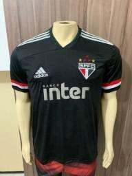 Nova camisa do São Paulo preta
