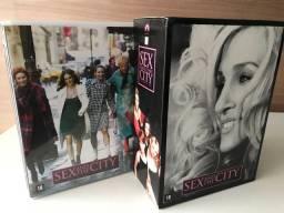Box DVD Sex And The City - Coleção Completa: 1º a 6º Temporada (18 DVDs)