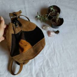 Mochilinha artesanal
