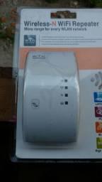 Amplificador de sinal de Internet R$100,00