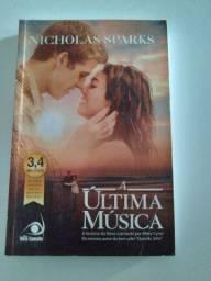 Livro A última música de Nicholas Sparks