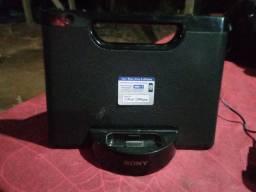 Vendo caixa de som de iphone e ipod 150 reais
