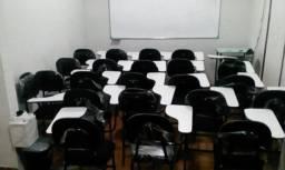 Cadeira Universitária Estofada c/braço (Kit 25 unidades Novas )