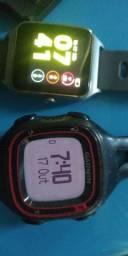 Dois relógios por 600 prova dágua com gps