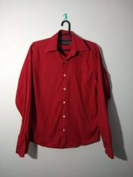 Camisa social slim fit 38 (PP)