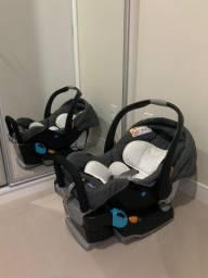 Bebê Conforto Keyfit Chicco com Base para instalação no carro