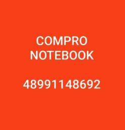 Compr0 Notebook com defeito