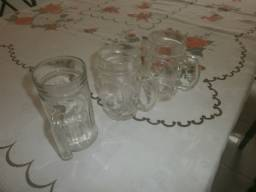 Caneca de chopp de vidro