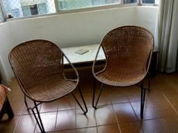 (URGENTE!!!) Duo Cadeiras Vime
