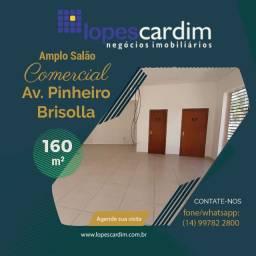 Amplo Salão Comercial na Av. Pinheiro Brisola
