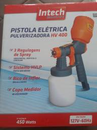 Pistola elétrica Intech Machine pulverizadora HV 400