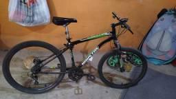 Bike 900 reais amanhã posto foto