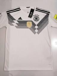 Camisa Alemanha Home Kit Adidas 18/19 - Tamanho: M