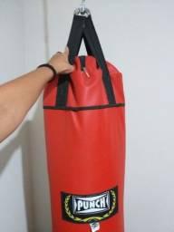 Saco de pancadas para artes marciais