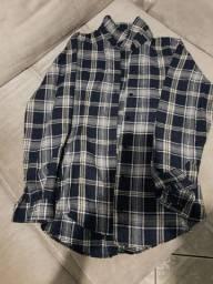 Camisa flanela P/M