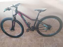 Vendo bike Caloi aro 29 tamanho P MUITO NOVA meu whatsapp *