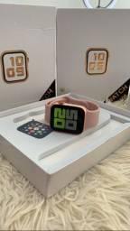 Título do anúncio: Smart Watch T500 e T900 acompanha uma pulseira milanês extra e película, 3 cores dis