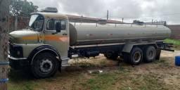 Caminhão MB 1518 1987 c/ Tambor 13500 litros (pipa)