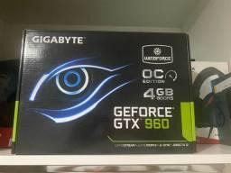Vendo placa de vídeo gtx 960 4gb