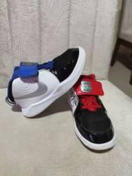 Tênis e Abrigo (Nike e Adidas)