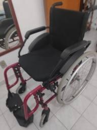 Cadeira De Rodas Fit Preta Jaguaribe