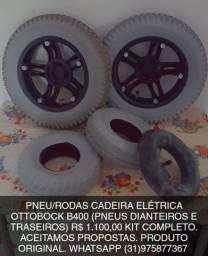 PNEUS CADEIRA MOTORIZADA OTTOBOK B400 ORIGINAL