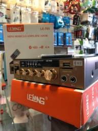 Amplificador Karaokê Bluetooth 600w