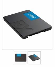 HD SSD Crucial BX500 480gb sara