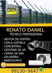 Técnico profissional em segurança eletrônica e automação de portão