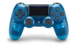 Controle de ps4 + carregador duplo de joystick