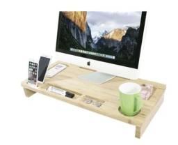 Mesa Para Monitor Ou Notebook Para Cama Ou Mesa Em Madeira