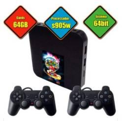 Super console com 7000 jogos + Função Smart em sua TV - Até 12x sem juros