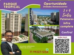 Título do anúncio: Patamares , 2 vagas , Parque Tropical , 3 suítes , 113m² , Varanda Gourmet