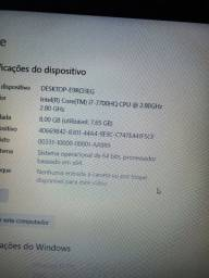 Notebook Dell Gaming 7567