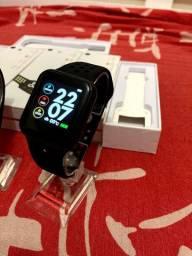 Smartwatch F9 Novo - Recebe Notificaçoes de Mensagens