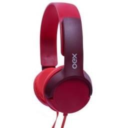 Headset OEX Vermelho