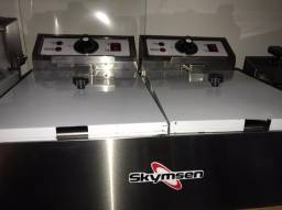 Fritadeira Elétrica 2 Cubas - 2 x 5,5 Litros - Skymsen - Matheus