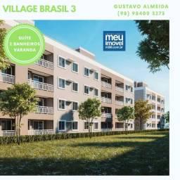 [67] Village Brasil III - Últimas Unidades | Apê com Varanda