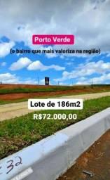 Perfeito Lote no Porto Verde !!! Pronto para Construir Linda Vista