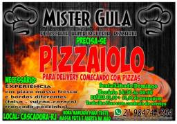 Pizzaiolo Esfiheiro.