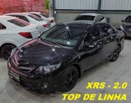Corolla XRS 2.0 Aut / top de linha / aceita troca e financia