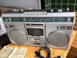 Rádio Gravador National Rx-5104f Relíquia Antiguidade Para Colecionadores