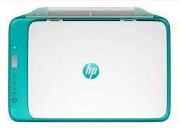 Impressora a cor HP Deskjet Ink Advantage 2676 com wifi dreamy teal 200V - 240V