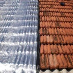 Manta asfaltica em telhados e reformas