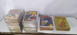 100 gibis pato Donald coleção editora abril lote 100 revistas em quadrinhos Disney