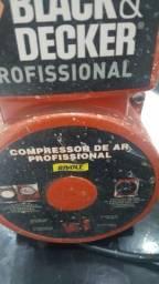 Compressor de ar proficional bivolt  1/6
