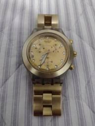 Relógio Swatch original dourado