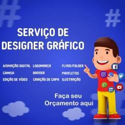 Serviços digitais de Designer Gráfico