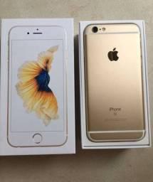 iPhone 6s Gold 32gv impecável, todo original. Cometa Celular Anápolis