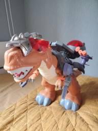 dinossauro imaginext tech t-rex<br><br>